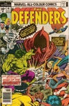 Cover Thumbnail for The Defenders (1972 series) #40 [British Price Variant]