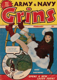 Cover Thumbnail for Army & Navy Grins (Harvey, 1944 series) #1