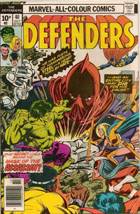 Cover Thumbnail for The Defenders (Marvel, 1972 series) #40 [British]