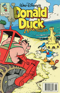 Cover Thumbnail for Walt Disney's Donald Duck Adventures (Disney, 1990 series) #3 [Newsstand]