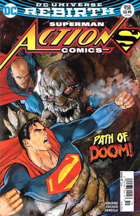 Cover Thumbnail for Action Comics (DC, 2011 series) #958 [Newsstand]