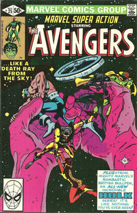 Cover Thumbnail for Marvel Super Action (Marvel, 1977 series) #25 [Direct Edition]