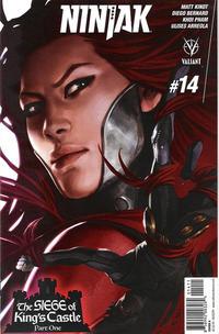 Cover Thumbnail for Ninjak (Valiant Entertainment, 2015 series) #14 [Cover A - Jelena Kevic Djurdjevic]