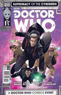 Cover Thumbnail for Doctor Who: Supremacy of the Cybermen (Titan, 2016 series) #1 [Cover A]