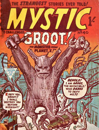 Cover Thumbnail for Mystic (L. Miller & Son, 1960 series) #40