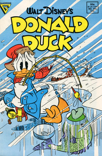 Cover for Donald Duck (Gladstone, 1986 series) #253 [Newsstand]