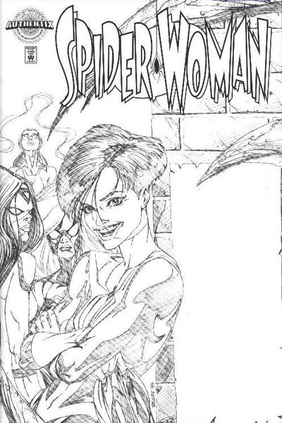 Cover for Spider-Woman (Marvel, 1999 series) #1