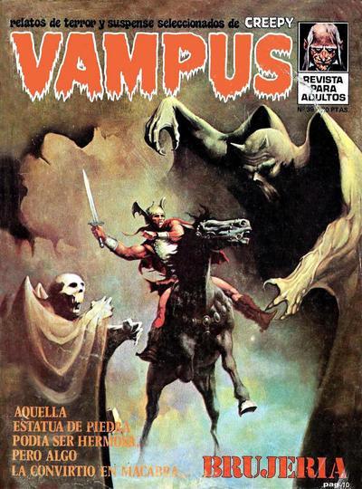 Cover for Vampus (Ibero Mundial de ediciones, 1971 series) #39