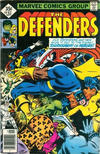 Cover for The Defenders (Marvel, 1972 series) #63 [Whitman]