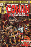 Cover for Conan the Barbarian (Marvel, 1970 series) #24 [British]