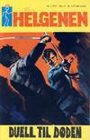 Cover for Helgenen (Romanforlaget, 1966 series) #2/1971