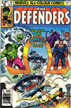 Cover for The Defenders (Marvel, 1972 series) #76 [British]