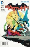 Cover for Batman (DC, 2011 series) #40 [Newsstand]