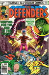 Cover for The Defenders (Marvel, 1972 series) #77 [British]