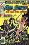 Cover for Red Sonja (Marvel, 1977 series) #7 [British Price Variant]