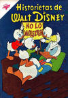 Cover for Historietas de Walt Disney (Editorial Novaro, 1949 series) #154
