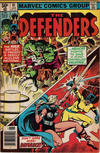 Cover for The Defenders (Marvel, 1972 series) #91 [Newsstand]