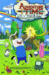 Cover for Adventure Time (Boom! Studios, 2012 series) #1 [Cover E - Wraparound Variant by Chris Houghton]
