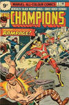 Cover for The Champions (Marvel, 1975 series) #5 [British Price Variant]