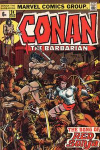 Cover Thumbnail for Conan the Barbarian (Marvel, 1970 series) #24 [British]