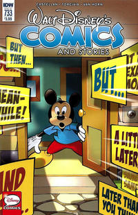 Cover Thumbnail for Walt Disney's Comics and Stories (IDW, 2015 series) #733