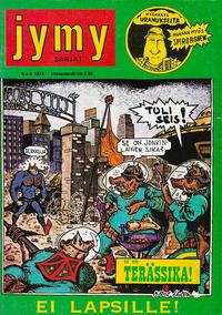 Cover Thumbnail for Jymy sarjat (Graafinen Kustannus Oy, 1973 series) #4/1973