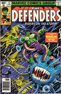 Cover Thumbnail for The Defenders (Marvel, 1972 series) #72 [Newsstand]