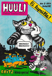 Cover Thumbnail for Huuli (Lehtijussi Oy, 1976 series) #3/1977