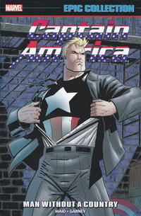 Cover Thumbnail for Captain America Epic Collection (Marvel, 2014 series) #22 - Man Without a Country