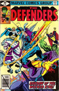 Cover Thumbnail for The Defenders (Marvel, 1972 series) #73 [Direct]
