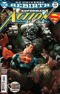 Cover Thumbnail for Action Comics (DC, 2011 series) #959 [Clay Mann Cover Variant]