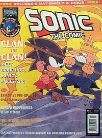 Cover Thumbnail for Sonic the Comic (Fleetway Publications, 1993 series) #107