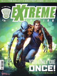 Cover Thumbnail for 2000 AD Extreme Edition (Rebellion, 2003 series) #9