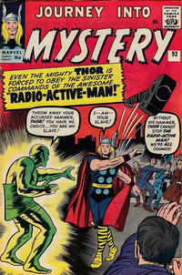 Cover for Journey into Mystery (Marvel, 1952 series) #93 [Regular Edition]