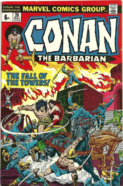 Cover for Conan the Barbarian (Marvel, 1970 series) #26 [Regular Edition]