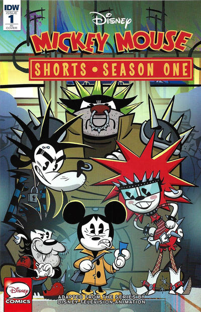 Cover for Mickey Mouse Shorts: Season One (IDW, 2016 series) #1 [Convention Edition Variant]
