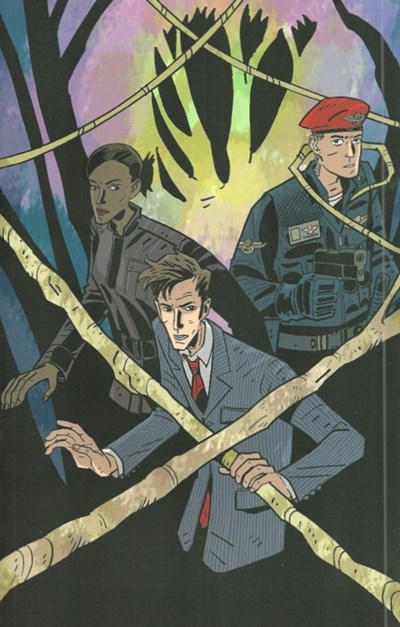 Cover for Doctor Who (IDW, 2009 series) #9 [Cover A]