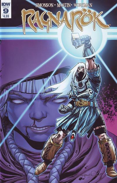 Cover for Ragnarök (IDW, 2014 series) #9