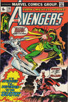 Cover Thumbnail for The Avengers (1963 series) #116 [British Price Variant]