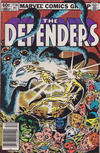 Cover for The Defenders (Marvel, 1972 series) #114 [Newsstand]
