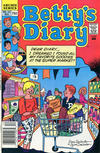 Cover for Betty's Diary (Archie, 1986 series) #22 [Newsstand]