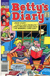 Cover for Betty's Diary (Archie, 1986 series) #25 [Newsstand]