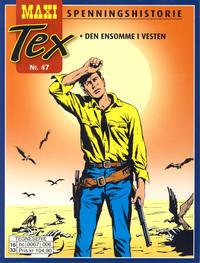 Cover Thumbnail for Maxi Tex (Hjemmet / Egmont, 2008 series) #47 - Den ensomme i vesten