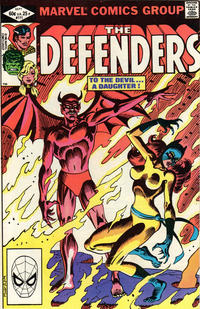Cover Thumbnail for The Defenders (Marvel, 1972 series) #111 [Direct]