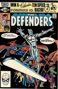 Cover Thumbnail for The Defenders (Marvel, 1972 series) #101 [Direct]