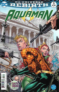 Cover Thumbnail for Aquaman (DC, 2016 series) #3 [Walker / Hennessy Cover]