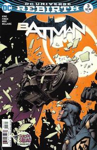 Cover Thumbnail for Batman (DC, 2016 series) #3 [David Finch]