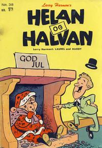 Cover Thumbnail for Helan og Halvan (Illustrerte Klassikere / Williams Forlag, 1963 series) #38
