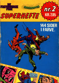 Cover Thumbnail for De Fantastiske Fire og Edderkoppen Superhefte (Winthers Forlag, 1979 ? series) #2