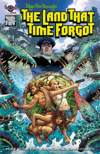 Cover Thumbnail for Edgar Rice Burroughs' The Land That Time Forgot (American Mythology Productions, 2016 series) #1 [Main Cover]
